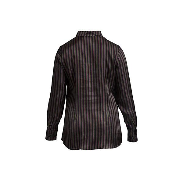 Langarmblusen Laurie Isa Braun design Mit Streifen Langarmhemd Tollem Nn0PX8Owk
