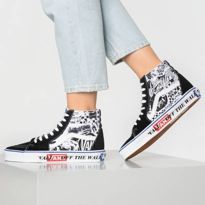 VANS, Ua Sk8 hi Sneakers High, schwarz   mirapodo