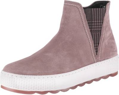 Gabor, Chelsea Boots, rosa