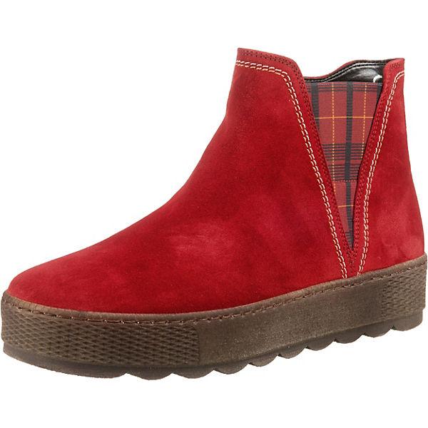 Erstaunlicher Preis Gabor Chelsea Boots rot