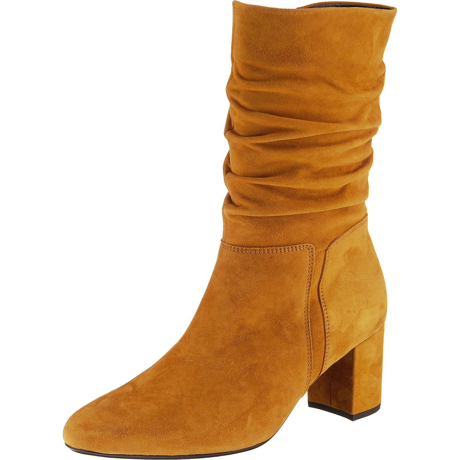 Gabor Klassische Stiefel gelb Damen Gr. 42