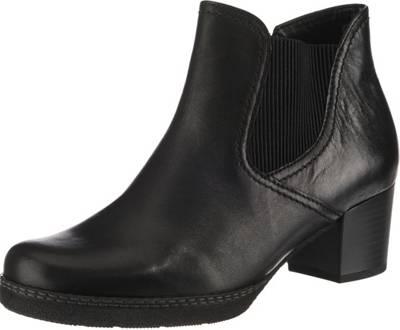 Gabor, Klassische Stiefeletten, schwarz