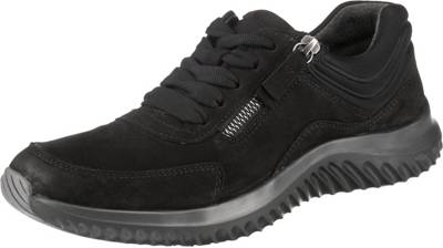 Gabor, Rolling Soft Sneakers Low, schwarz