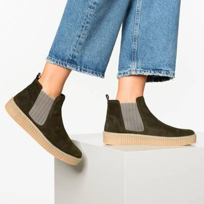 Gabor, Chelsea Boots, gelbgold