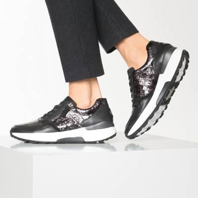 Gabor, Rolling Soft Sneakers Low, schwarz   mirapodo