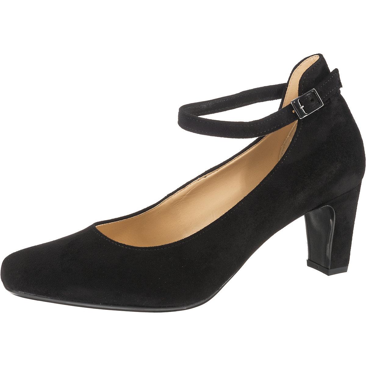 Gabor, Spangenpumps, schwarz  Gute Qualität beliebte Schuhe