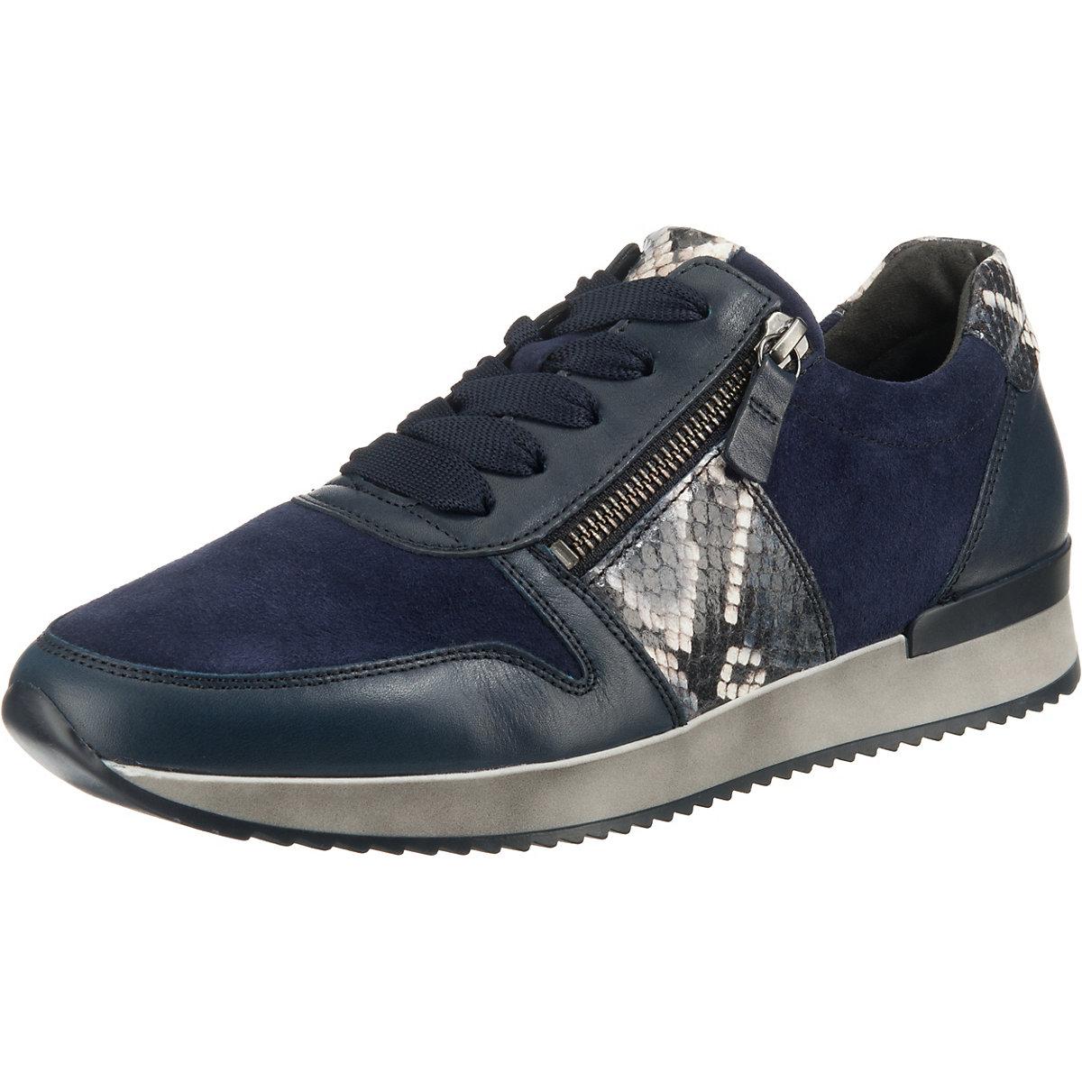 Gabor, Turnschuhe Low, blau  Gute Qualität beliebte Schuhe