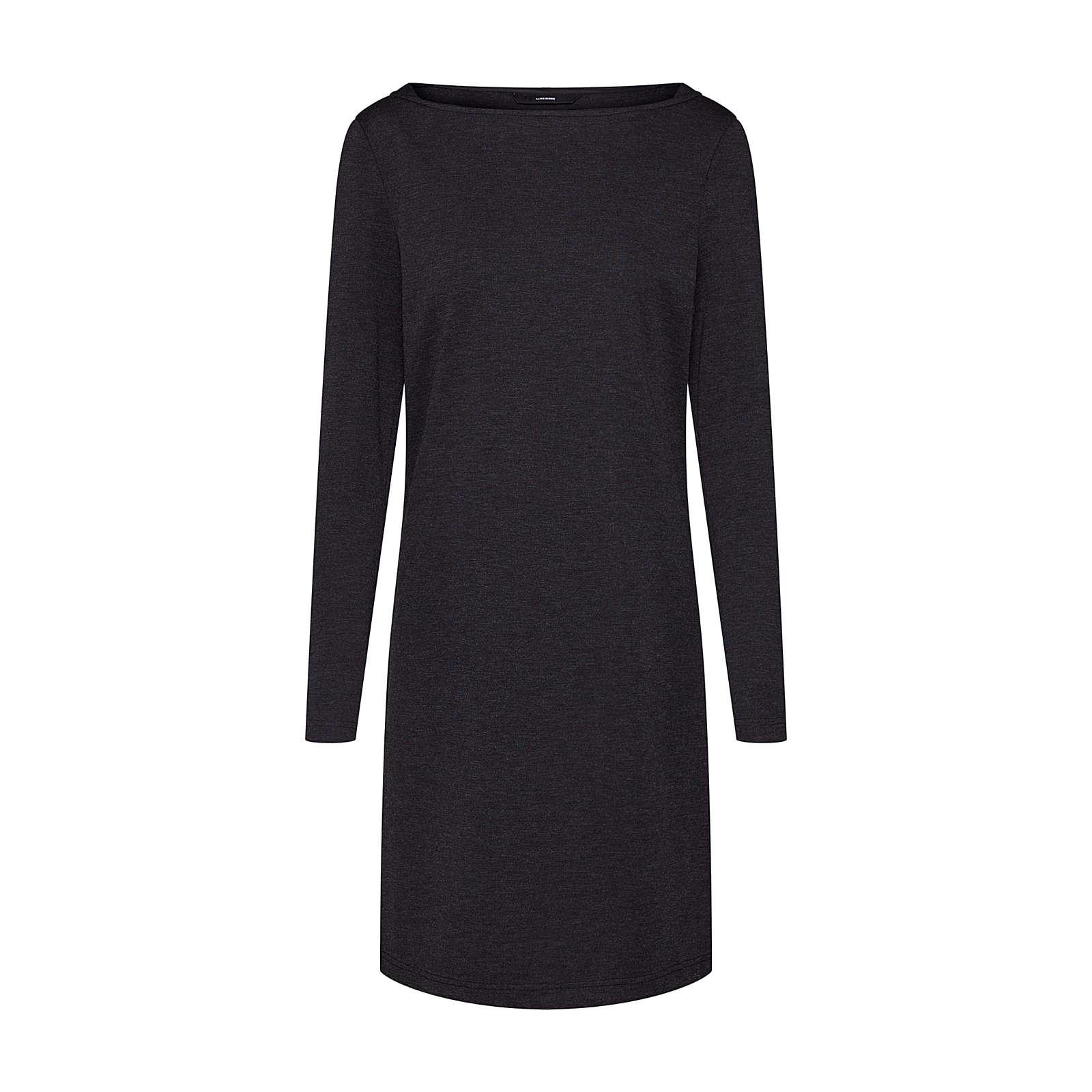 VERO MODA Kleid VMTAILOR LS ABK DRESS Jerseykleider dunkelgrau Damen Gr. 38