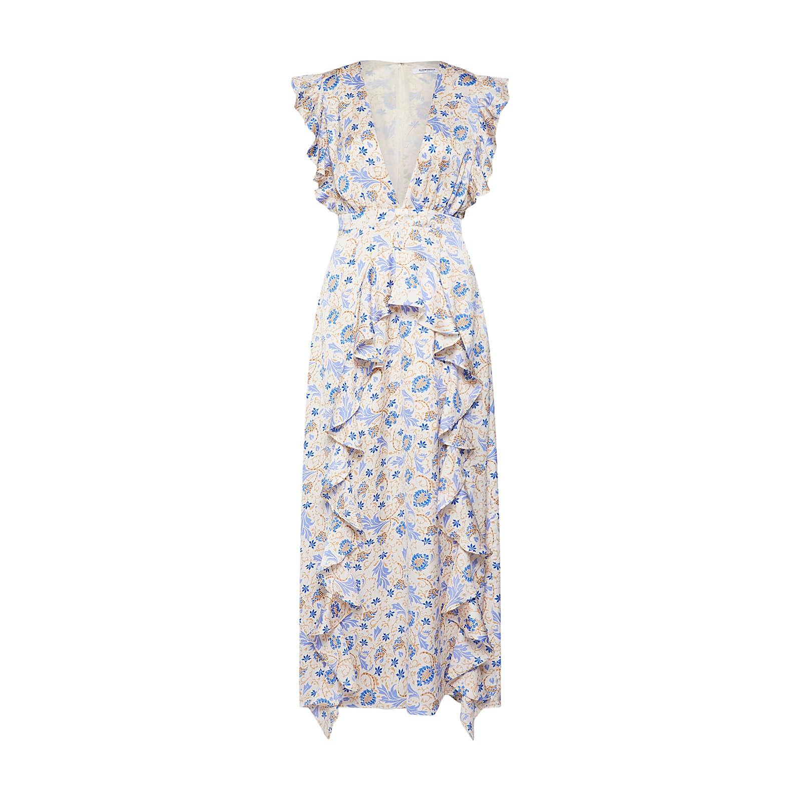 GLAMOROUS Sommerkleid Sommerkleider mehrfarbig Damen Gr. 36
