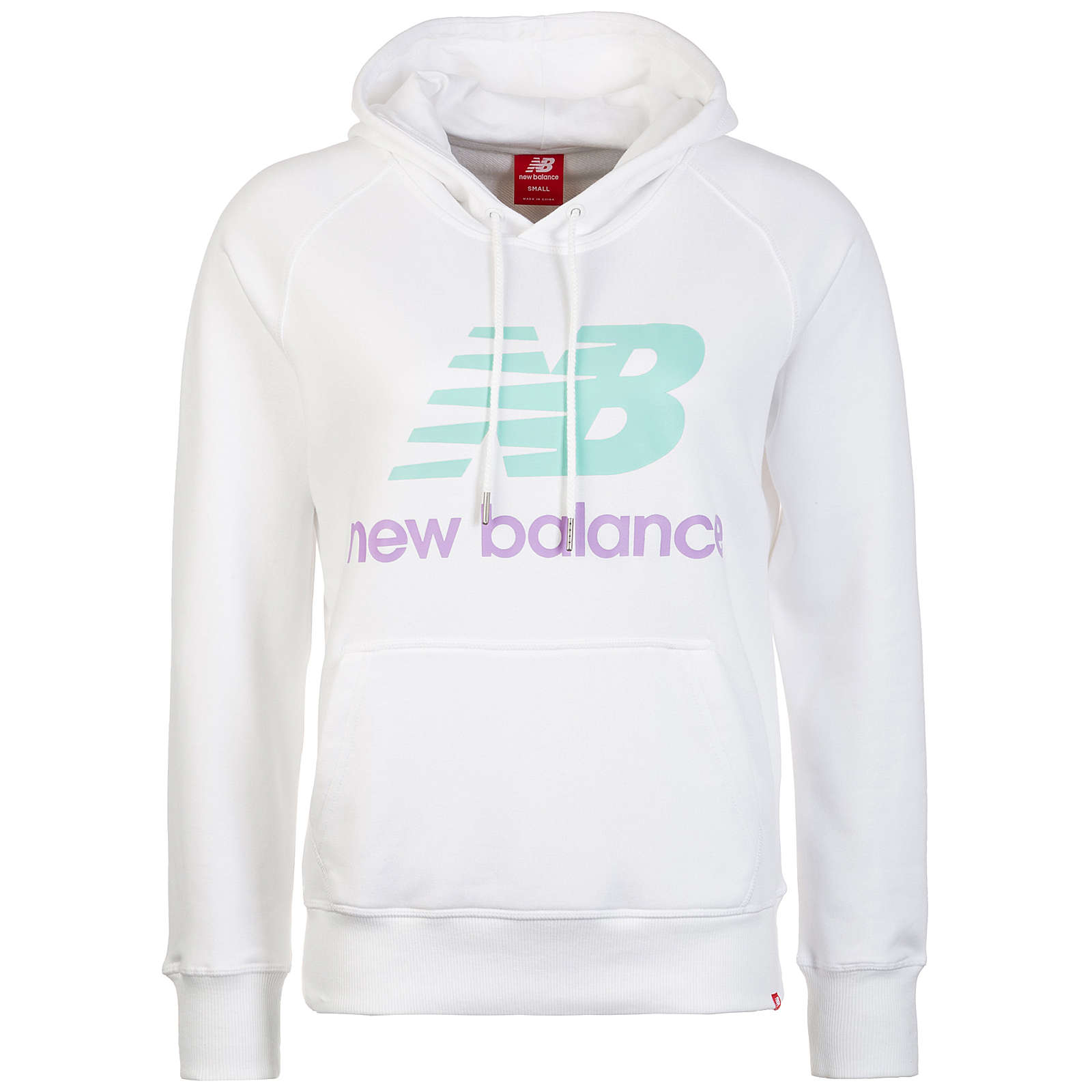 new balance Essentials Kapuzenpullover Damen weiß Damen Gr. 40
