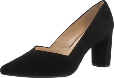 HÖGL Sling Pumps Ballerinas Leder Schuhe schwarz NEU UVP 99,95