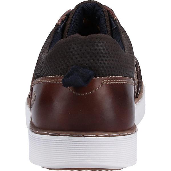 Dockers By Sneaker Low Gerli Braun blau Sneakers 54AjLR