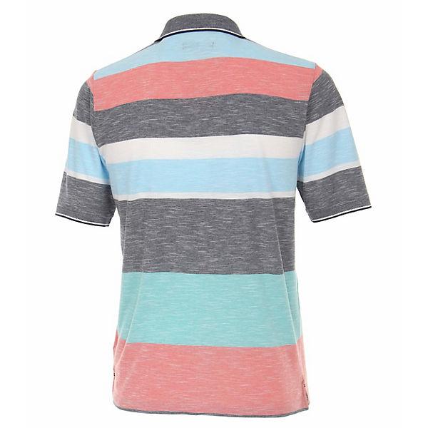Andere Polo shirt Blau Muster Casamoda Poloshirts xrodCBe
