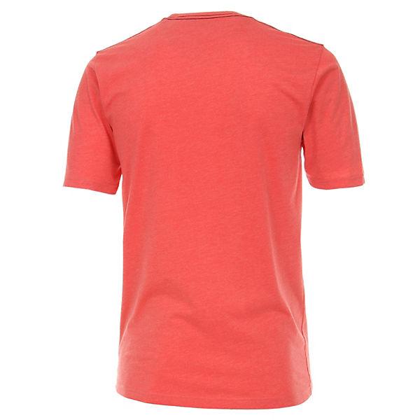 Casamoda T Uni shirt T shirts Rot kuXZOPi