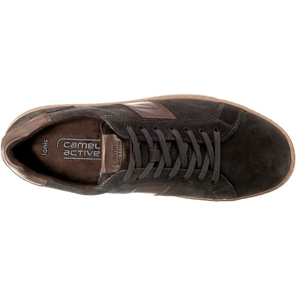 camel active  Tonic Sneakers Low  dunkelgrau
