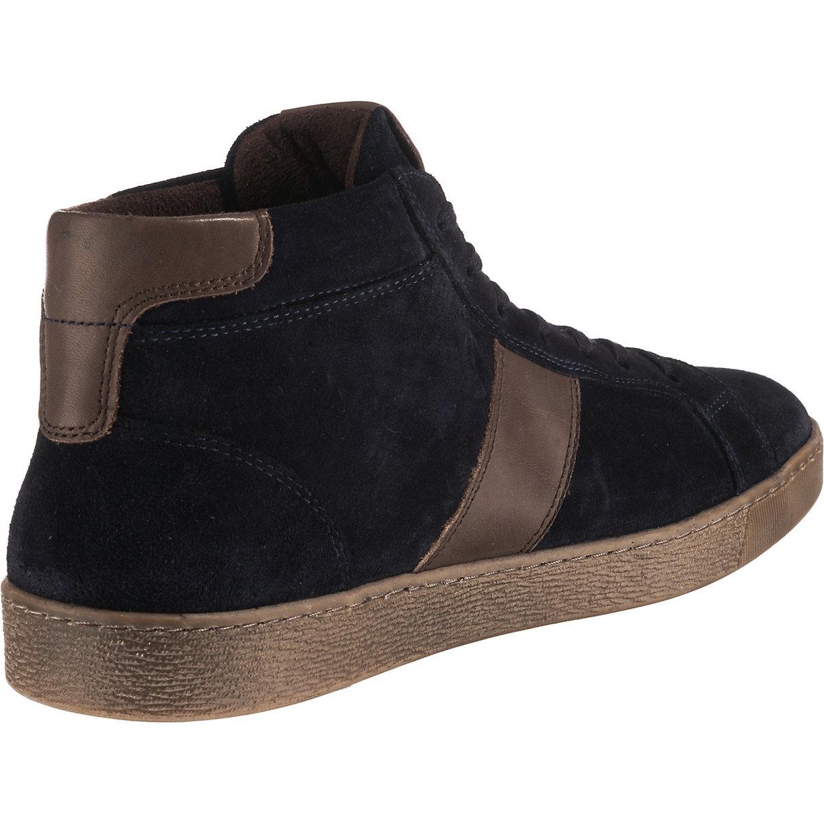 Camel Active, Tonic Sneakers High, Dunkelblau