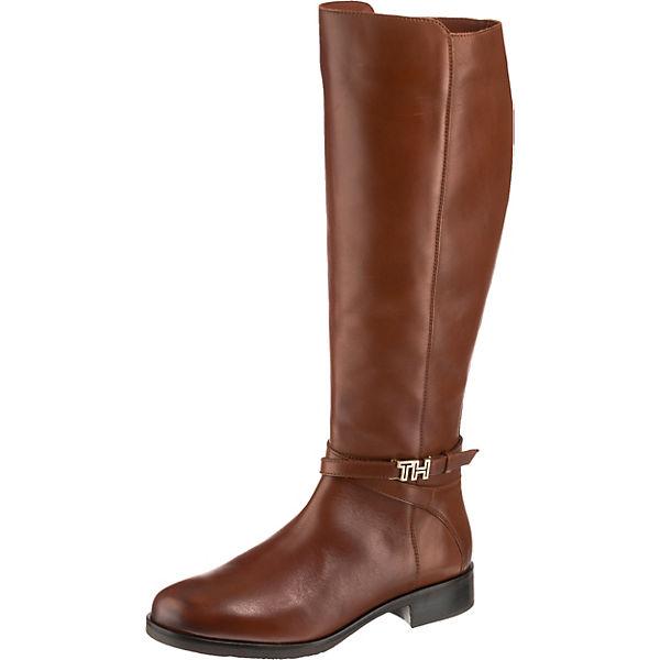 lowest price 2d0fe aad86 TOMMY HILFIGER, Tessa Klassische Stiefel, braun
