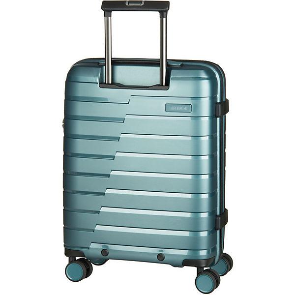 4 rad Travelite S TrolleyKoffer Base Air Blau Nw80mnOv