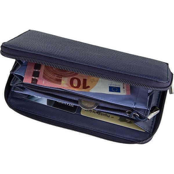 Rot Mandarina Zip Around Upp61 Wallet Duck Athena Portemonnaies Kellnerbörse JF1clK