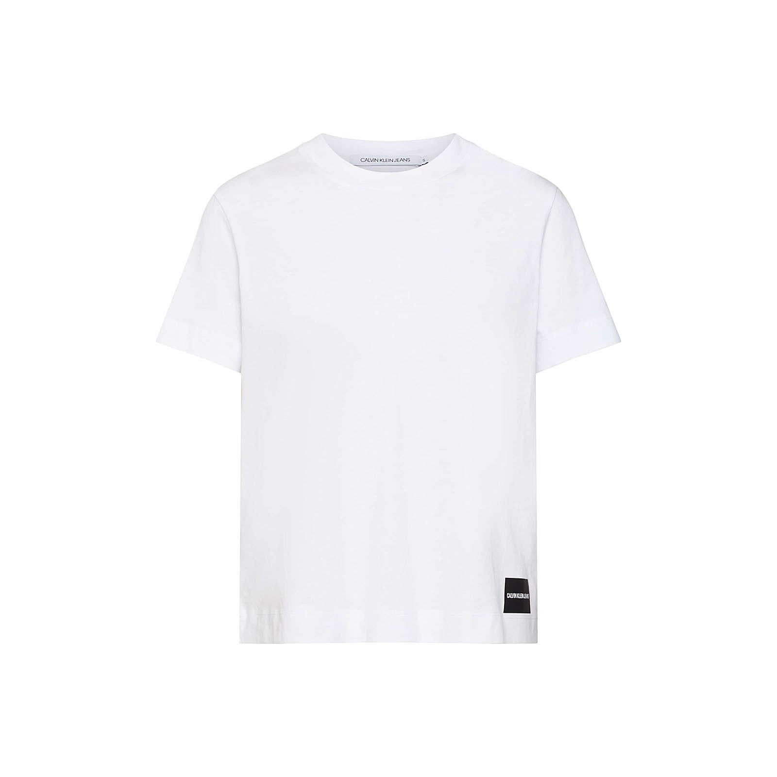 Calvin Klein Jeans Shirt T-Shirts weiß Damen Gr. 36