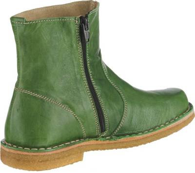 stiefel echt leder grün