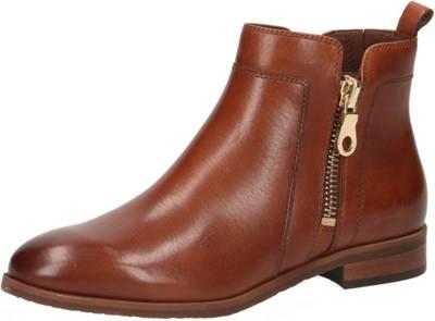 Cox Stiefel Stiefletten Chelsea Boots taupe Leder 39