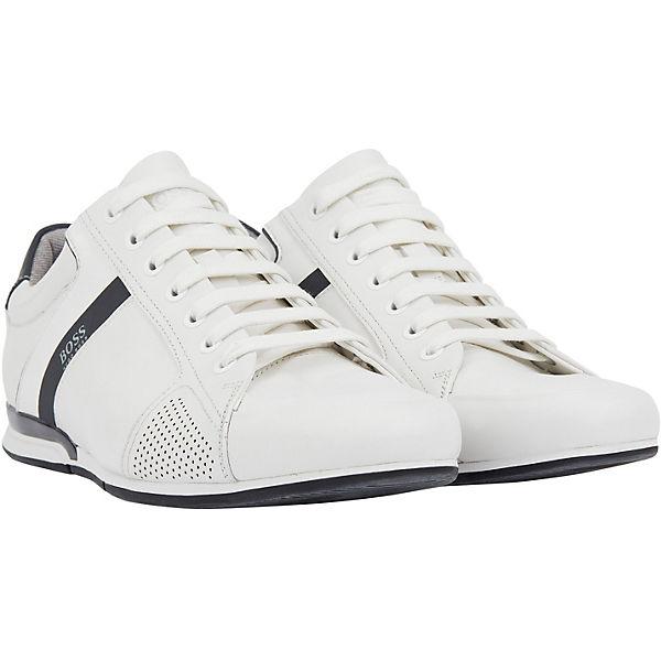 Low lux4 Saturn Hugo Weiß 01 Sneakers 10214348 lowp vON0wmn8