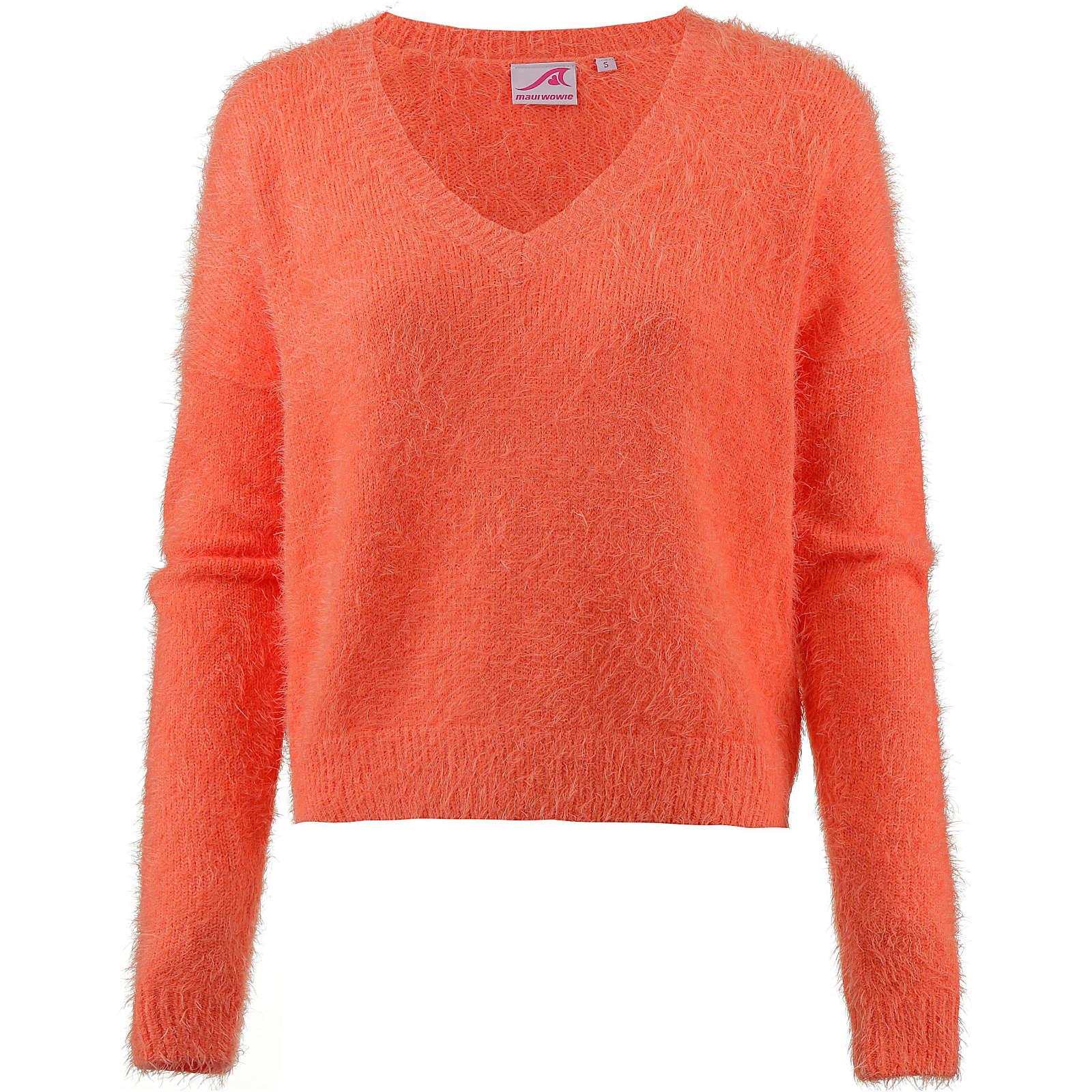Maui Wowie V-Pullover Pullover orange Damen Gr. 36