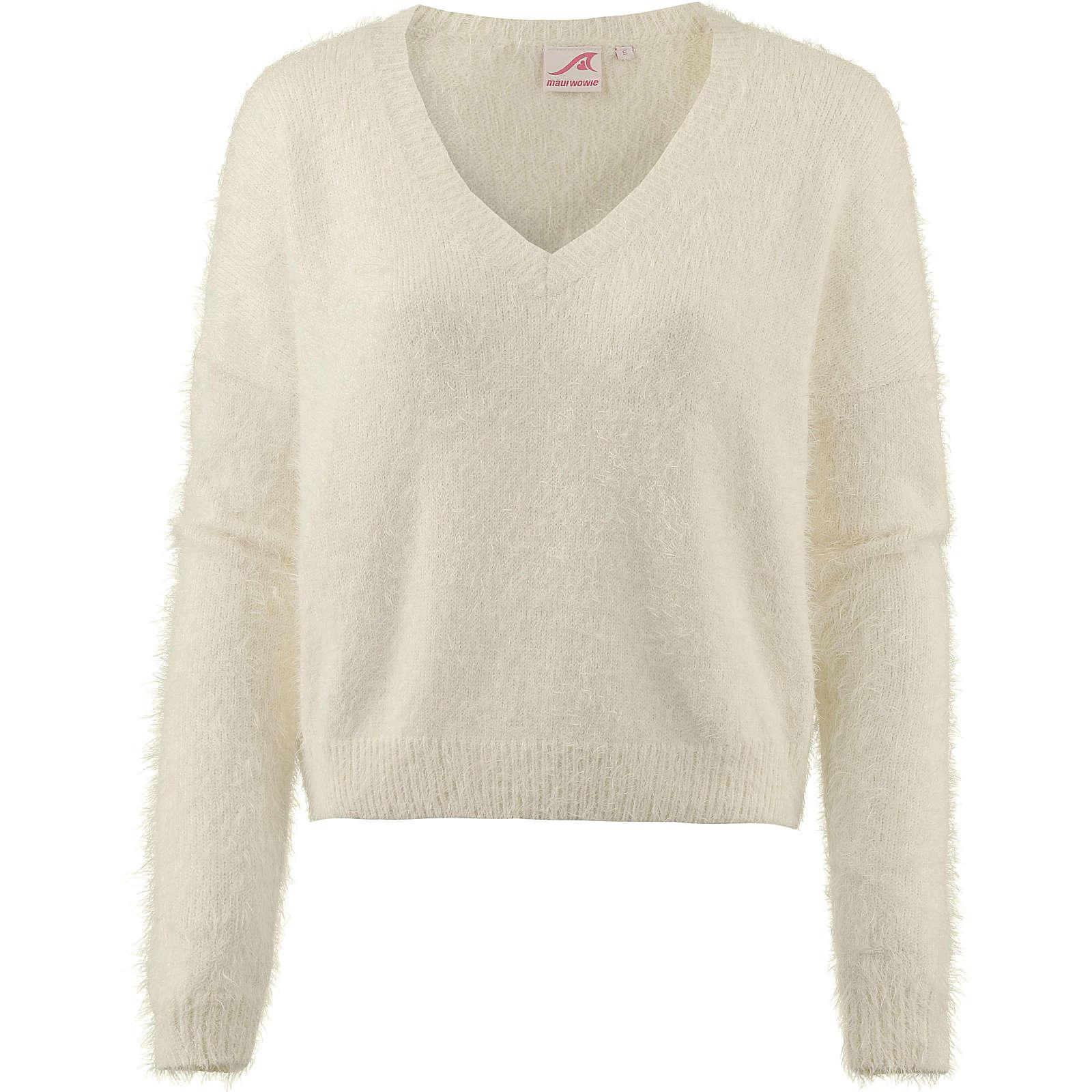Maui Wowie V-Pullover Pullover weiß Damen Gr. 40