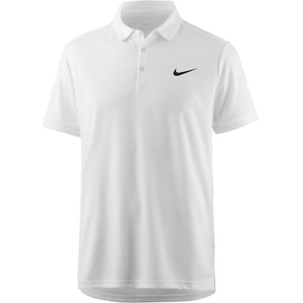 Dry Team Nike Polo Weiß Performance Tennis Poloshirts BoedCx