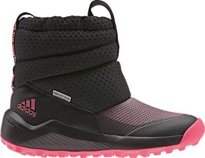 adidas Performance, Baby Winterstiefel CW HOLTANNA SNOW CF I für Jungen, dunkelrot