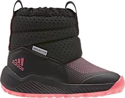 adidas Performance, Baby Winterschuhe RAPIDASNOW, schwarzrot