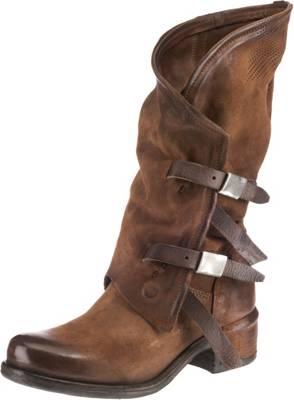 braun Stiefel, Klassische A.S.98, Qualität Schuhe beliebte