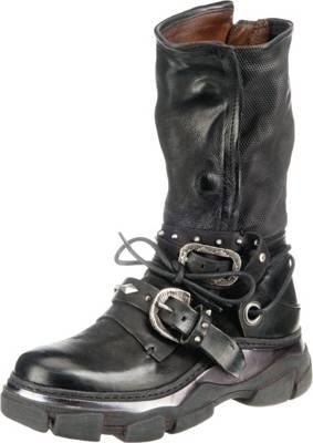 A.S.98, Biker Boots, schwarz