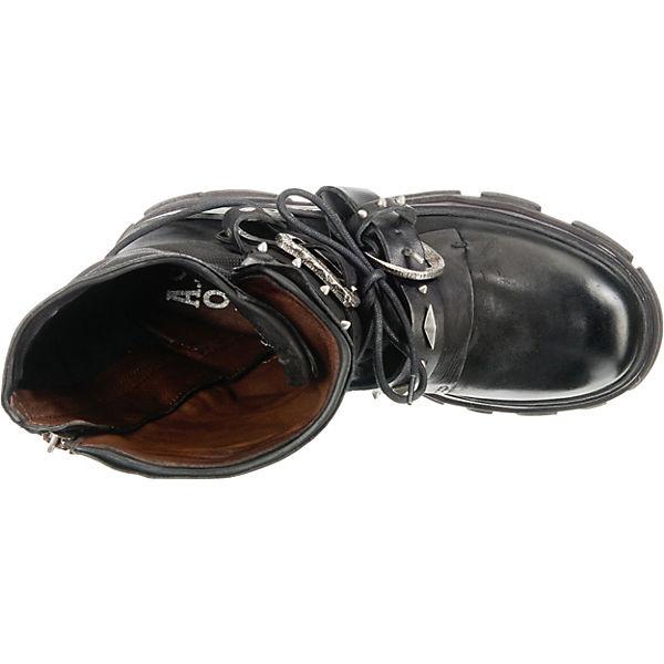 Erstaunlicher Preis A.S.98  Biker Boots  schwarz