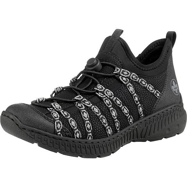 Erstaunlicher Preis rieker Sneakers Low schwarz