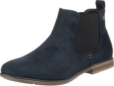 rieker, Chelsea Boots, blau