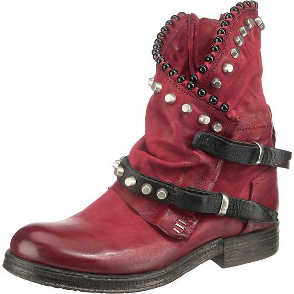 Erstaunlicher Preis A.S.98 Biker Boots rot