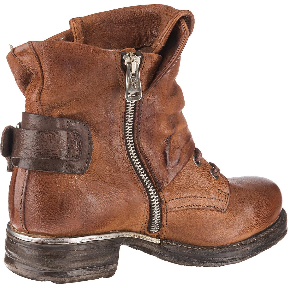 A.s.98, Biker Boots, Braun