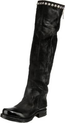 A.S.98, Overknee Stiefel, schwarz