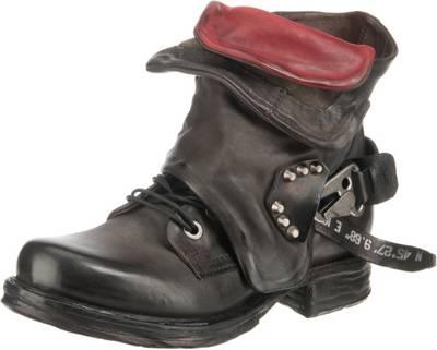 A.S.98, Biker Boots, dunkelgrau