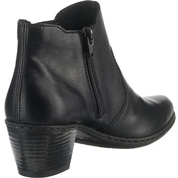 Erstaunlicher Preis rieker  Klassische Stiefeletten  schwarz