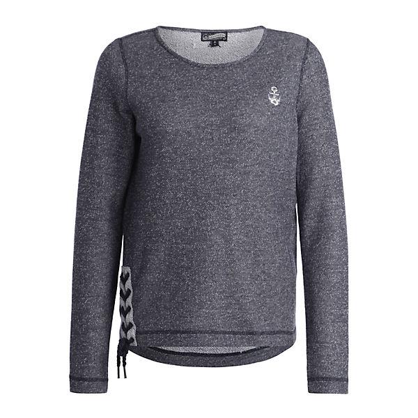 Damen Dunkelblau Dreimaster Dunkelblau Damen Sweater Sweater Damen Dreimaster Sweater Dreimaster xeCdBor