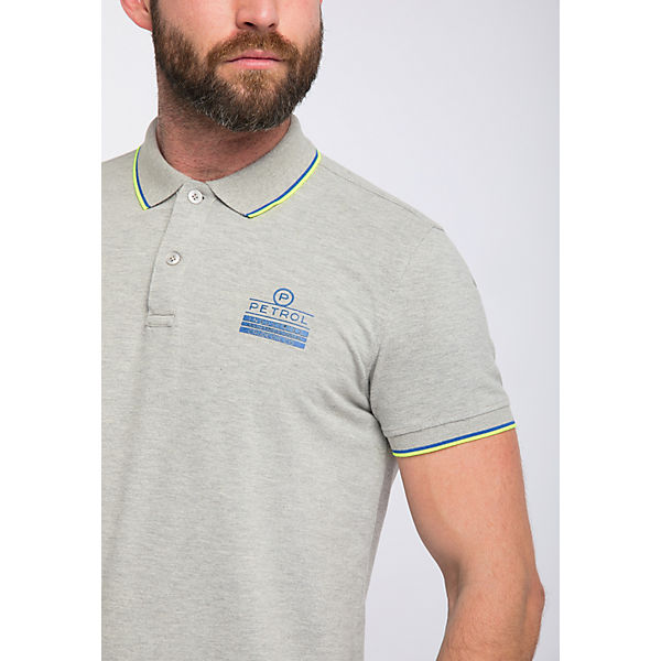 Men Industries Poloshirt Petrol Grau pzGLUjSMVq