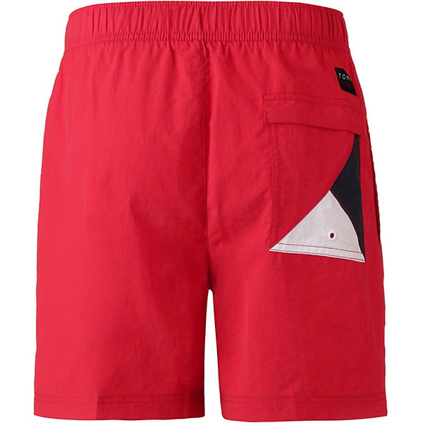 Rot Tommy Tommy Solid Hilfiger Badeshorts qpMSUzVG