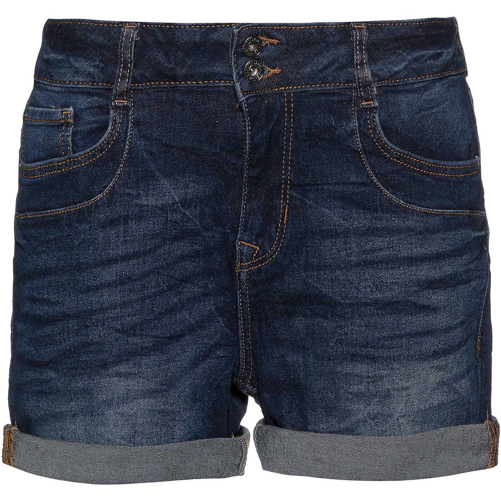 Tom Tailor Denim Jeansshorts Cajsa Jeansshorts blau Damen Gr. 34