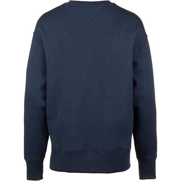 Sweatshirt Jeans Blau Tommy Sweatshirts BedrCoxW