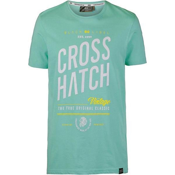 Fresan Grün Crosshatch T shirt T shirts xBshdCortQ