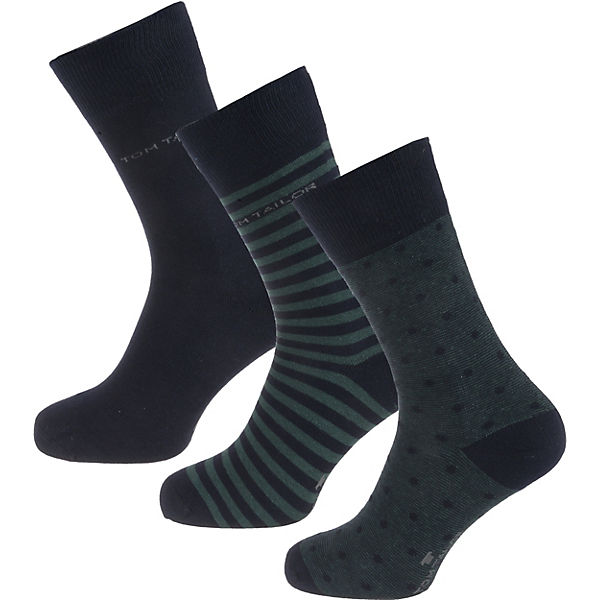 3er Pack Socks Dots and Stripes Socken