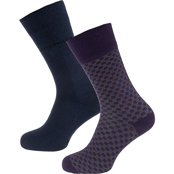 2er Pack Socks Small Check Socken